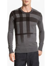 Burberry Brit Check Sweater - Lyst