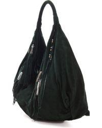 Simone Camille Moon Bag - Green