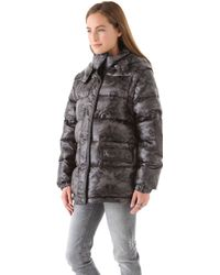 April, May - David Puffer Jacket with Removable Sleeves - Lyst