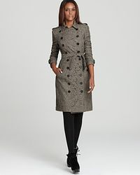 Burberry London Sherfield Lace Trench Coat - Lyst