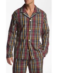 Polo Ralph Lauren Woven Pajama Top multicolor - Lyst
