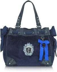 Juicy Couture - Regalia Daydreamer Velour Tote - Lyst