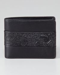 Robert Graham | Paisley Leatherbanded Bifold Wallet | Lyst