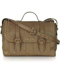 Sonia Rykiel Zoe Studded Leather Shoulder Bag - Lyst