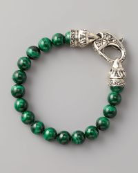 Stephen Webster - Malachite Bead Bracelet  - Lyst
