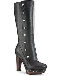 Ugg Tall Boots Cosmina High Heel - Lyst