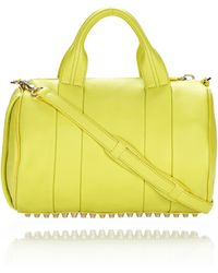 Alexander Wang - Rocco in Acid Soft Pebble Leather  - Lyst