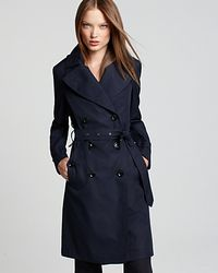 Burberry Long Double Breasted Trench Coat - Lyst