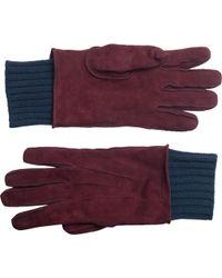 Burberry Prorsum - Suede Gloves - Lyst