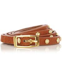 Oasis Studded Jeans Belt - Brown
