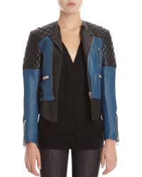 Balenciaga Bicolor Jacket - Lyst