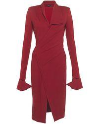 Donna Karan New York Sculpted Dress - Lyst