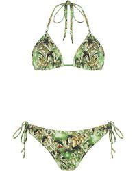 Matthew Williamson Jewel Bikini - Green