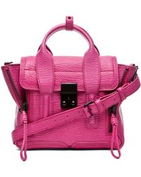 3.1 Phillip Lim Pashli Mini Satchel in Bright Fuchsia - Lyst