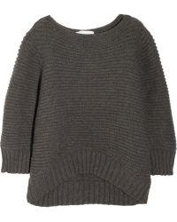 Chalayan Merino Wool and Cashmereblend Sweater - Lyst