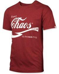 Fly 53 - Expect Chaos Tshirt - Lyst