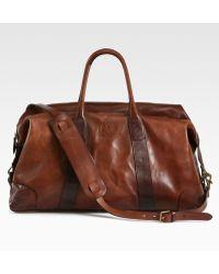 Polo Ralph Lauren Leather Duffel - Lyst