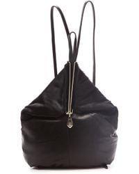 Pour La Victoire Getty Haircalf Backpack black - Lyst