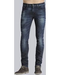 7 For All Mankind - Trey Leather Jackron with Squiggle Rocky Valley - Lyst