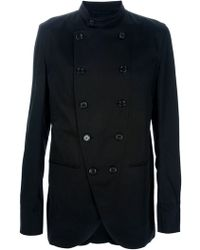 Ann Demeulemeester Double Breasted Jacket - Lyst