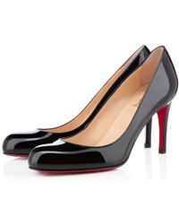 Christian Louboutin Simple Pump Patent - Lyst