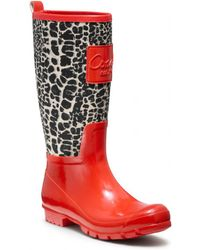 COACH Pearl Rainboot - Red
