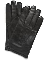J.Crew | Cashmere Lined Leather Gloves | Lyst