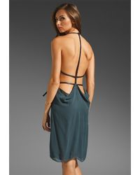 Nicholas K Myla Short Dress blue - Lyst