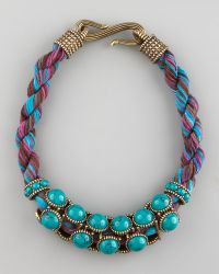 Giles & Brother - Turquoise Collar Necklace - Lyst