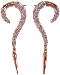 Luxury Fashion Curved Earrings - Lyst