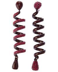 Luxury Fashion Spiral Earrings - Lyst