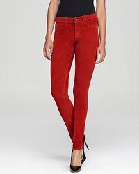 Sold Design Lab Sold Design Lab Pants Cord Spring Street Skinny in Red Umber