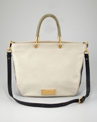 Marc By Marc Jacobs Too Hot To Handle Colorblock Zip Tote Bag - Lyst