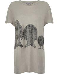 Mulberry Family Monster Tshirt - Grey