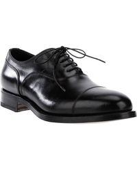 Santoni Classic Derby Shoe - Lyst