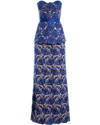 Stella McCartney Rebecca Lace Dress blue - Lyst