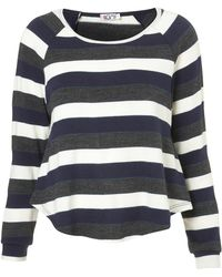 TOPSHOP - Stripe Jumper By Wal G - Lyst