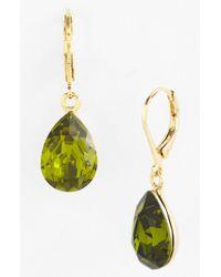 Cara Accessories Teardrop Earrings gold - Lyst
