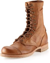 5cb1c7c582d Nathaniel Laceup Boot Tobacco - Brown