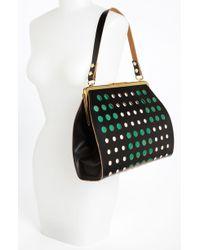 Marni Polka Dot Frame Handbag - Lyst