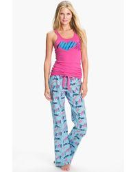 Make + Model Flannel Pajamas Gift Set - Lyst