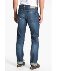 Lucky Brand Club Slim Straight Leg Denim Jeans - Lyst