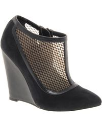 Asos Asos Trespass Wedge Shoe Boots - Lyst
