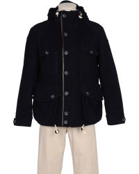 Heritage Research - Navy Wilderness Parka - Lyst
