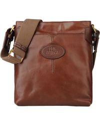 The Bridge - Medium Leather Bag - Lyst