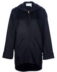 Saint Laurent Dropped Zip Jacket - Lyst