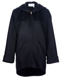 Saint Laurent Wool Blazer black - Lyst