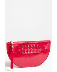 McQ by Alexander McQueen Large Patent Leather Coin Clutch - Lyst