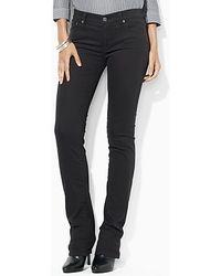 Ralph Lauren Slimming Modern Straight Jeans - Lyst