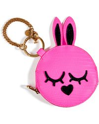 Marc By Marc Jacobs Ultra Pink Katie PVC Flat Coin Pouch - Lyst